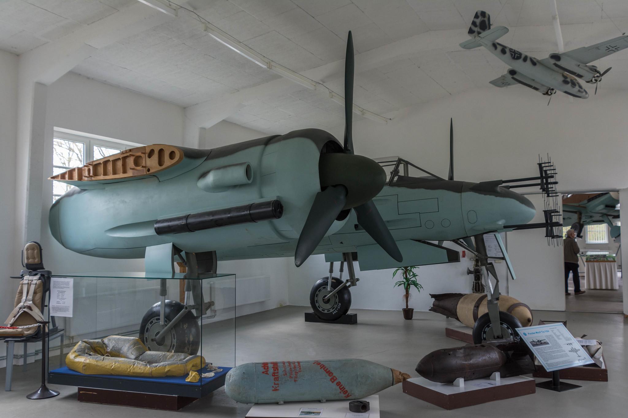 Focke-Wulf Ta 154 Replica, Luftfahrt Technisches Museum, Rechlin
