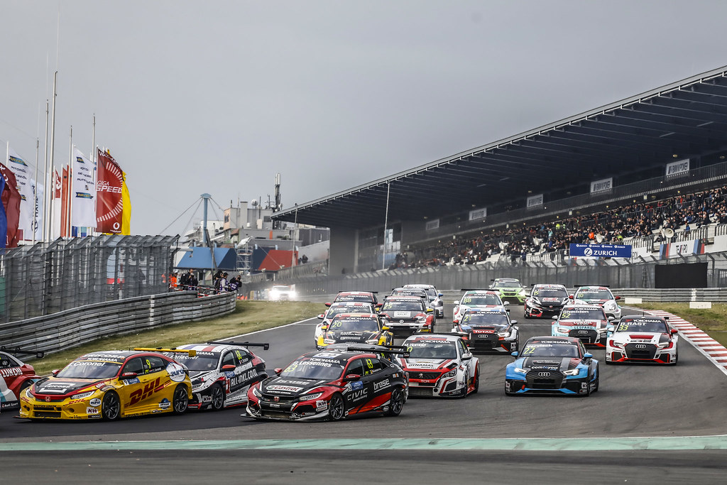 Start race 1 during the 2018 FIA WTCR World Touring Car cup of Nurburgring, Nordschleife, Germany from May 10 to 12 - Photo Francois Flamand / DPPI