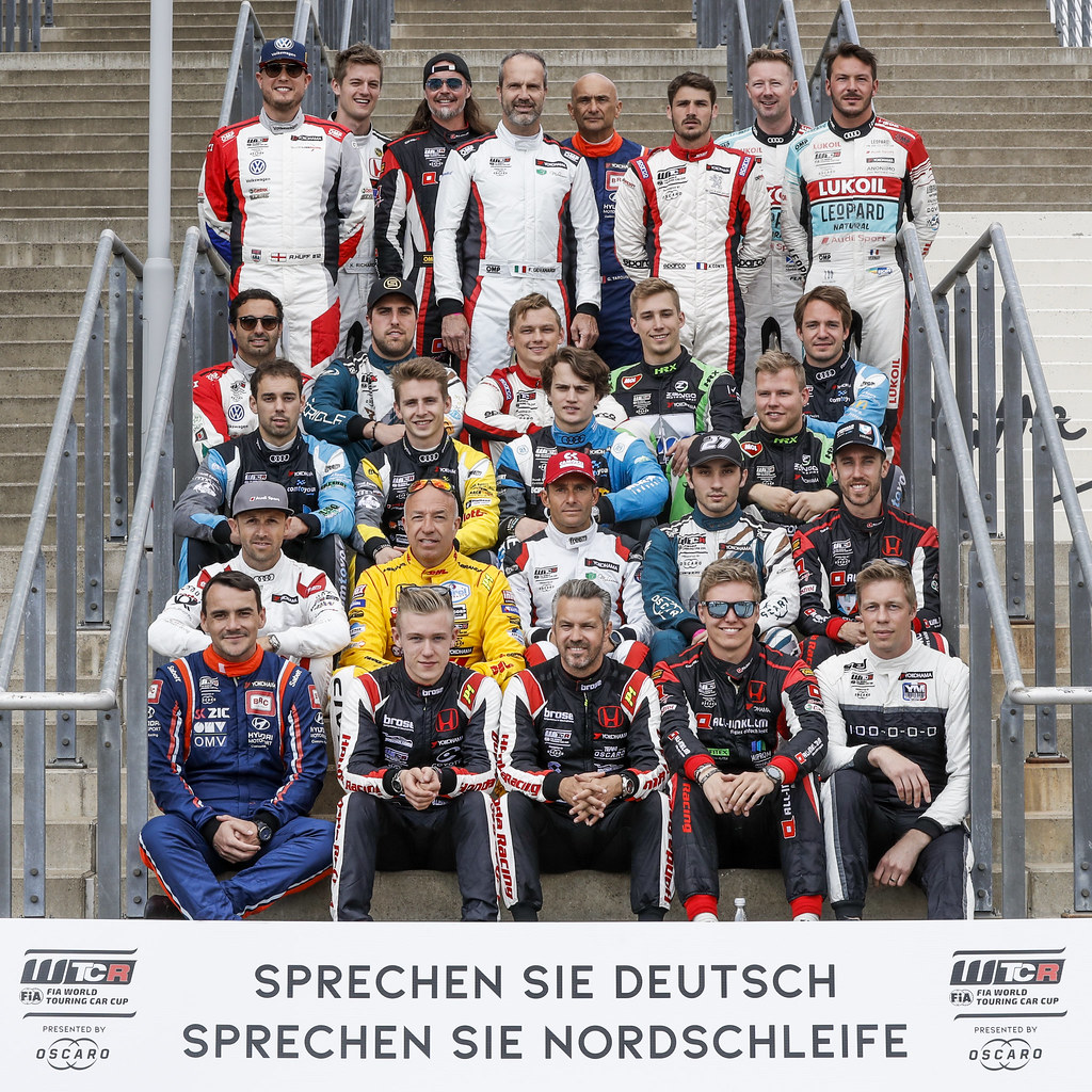 Family picture during the 2018 FIA WTCR World Touring Car cup of Nurburgring, Nordschleife, Germany from May 10 to 12 - Photo Florent Gooden / DPPI