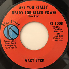 GARY BYRD:EVERY BROTHER AIN'T A BROTHER(LABEL SIDE-B)