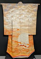 Itchiku Kubota. Burning Sun (1986) kimono