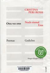 Cristina Peri Rossi, Otra vez eros