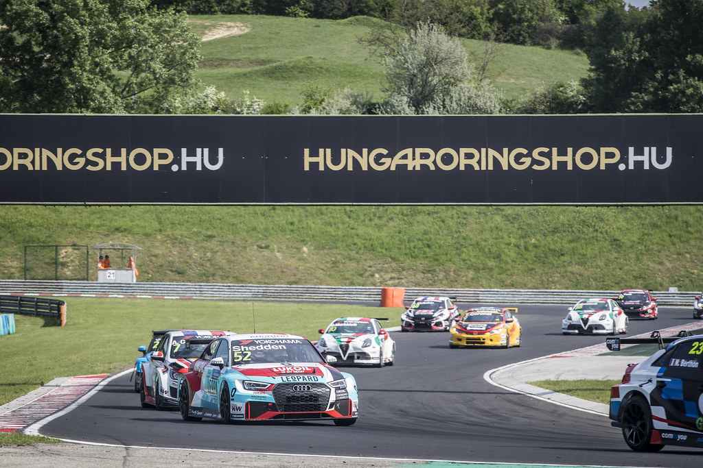 52 SHEDDEN Gordon (GBR), Audi Sport Leopard Lukoil Team, Audi RS3 LMS, action during the 2018 FIA WTCR World Touring Car cup, Race of Hungary at hungaroring, Budapest from april 27 to 29 - Photo Gregory Lenormand / DPPI