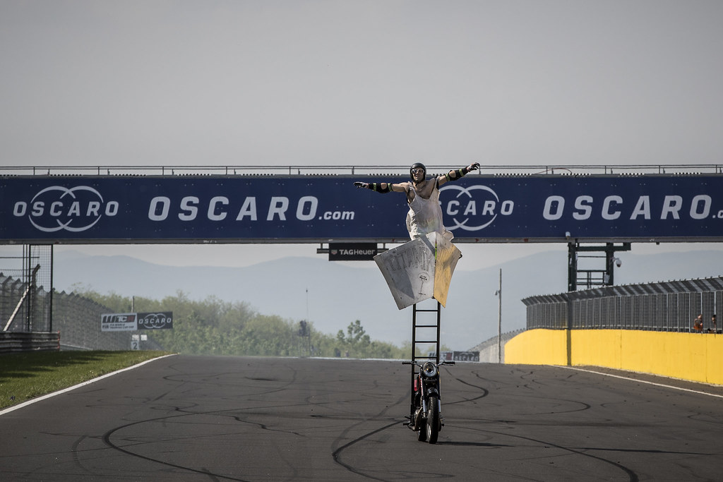 stunt during the 2018 FIA WTCR World Touring Car cup, Race of Hungary at hungaroring, Budapest from april 27 to 29 - Photo Gregory Lenormand / DPPI
