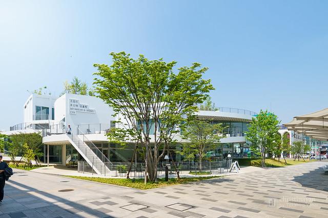 Full view of Art Museum & Library, Ota (太田市美術館・図書館)