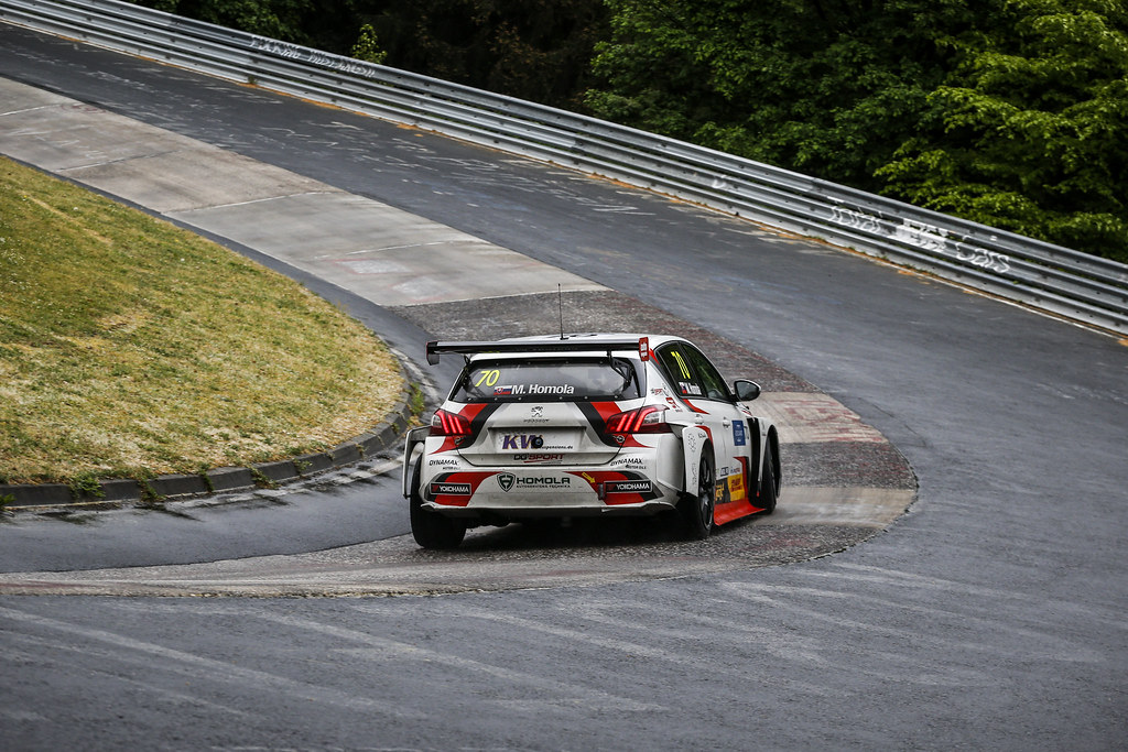 70 HOMOLA Mato (SVK), DG Sport Competition, PEUGEOT 308TCR, action during the 2018 FIA WTCR World Touring Car cup of Nurburgring, Germany from May 10 to 12 - Photo Clement Marin / DPPI