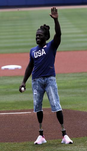 U.S. Paralympian Regas Woods