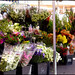 Flower market in Nice,  France.