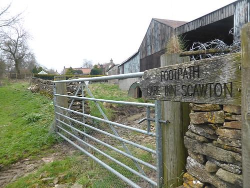 Footpath Sign Lies