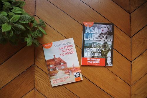En sacrifice à Moloch d'Asa Larsson // La ferme du bout du monde de Sarah Vaughan