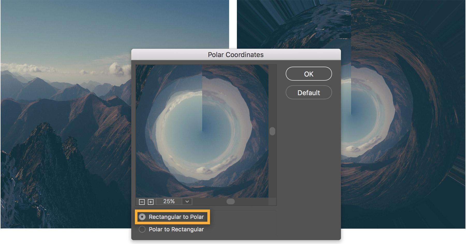"""Cách sử dụng Photoshop để tạo hình ảnh """"Round Thing"""""""