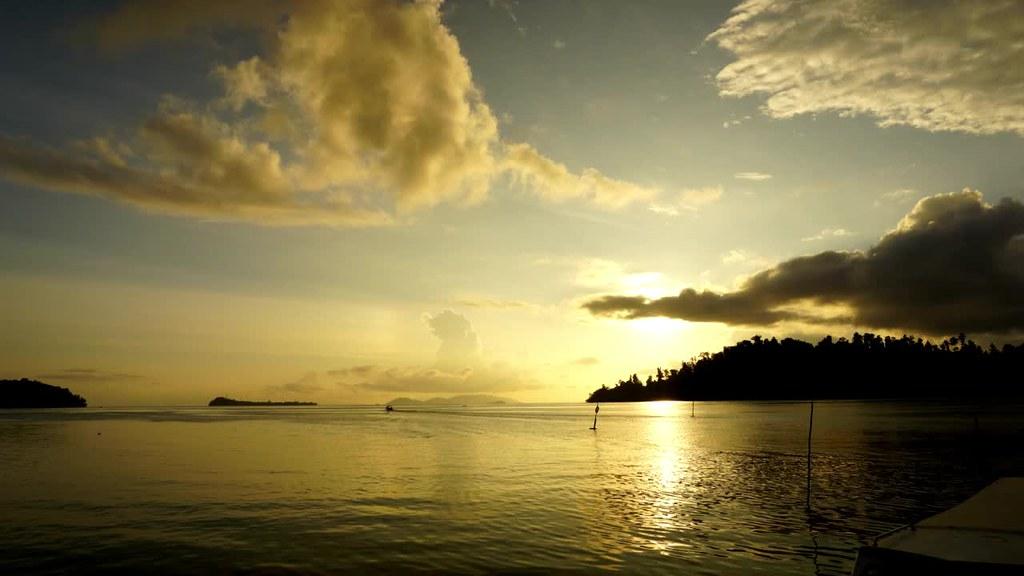 Sunset at Waisai, Raja Ampat