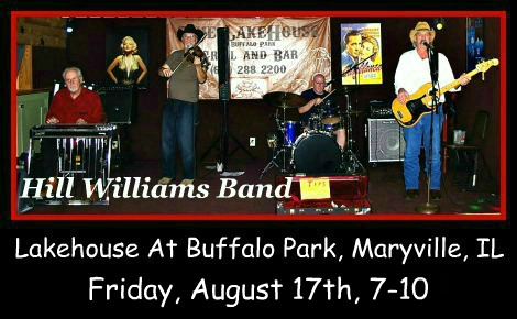 Hill Williams Band 8-17-18
