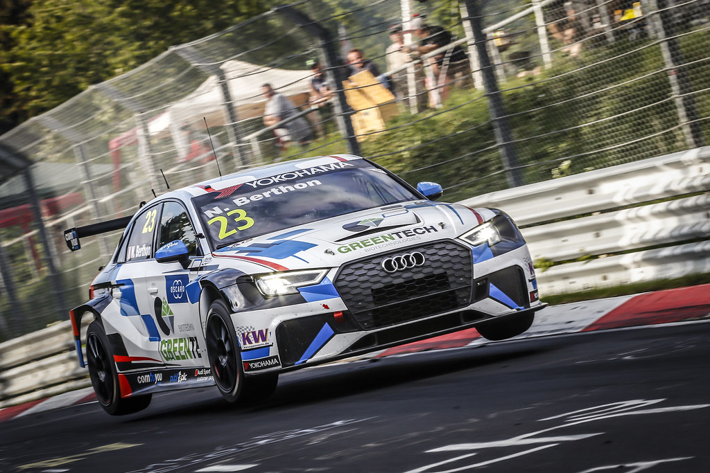 23 BERTHON Nathanael (FRA), Comtoyou Racing, Audi RS3 LMS, action during the 2018 FIA WTCR World Touring Car cup of Nurburgring, Nordschleife, Germany from May 10 to 12 - Photo Francois Flamand / DPPI