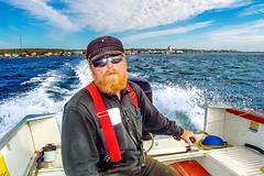 McNab's Island Ferry man, Nova Scotia