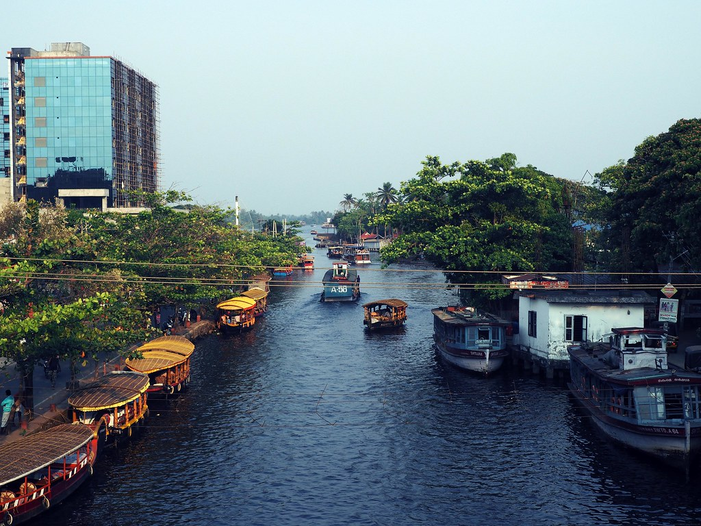 Alappuzha Alleppey backwaters city centre_effected