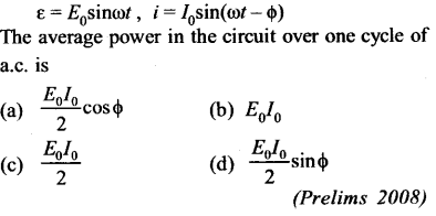 NEET AIPMT Physics Chapter Wise Solutions - Electromagnetic Induction and Alternating Current 28