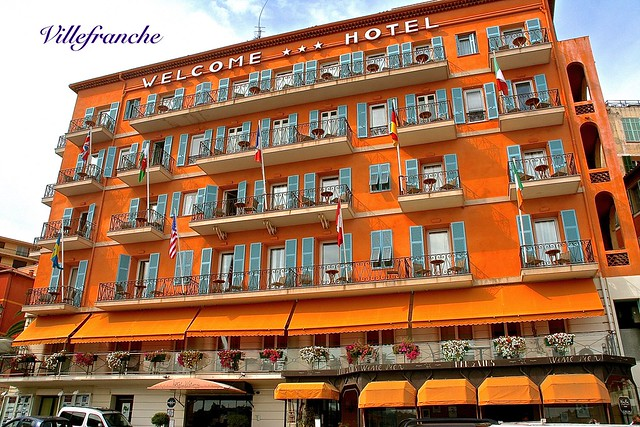 WELCOME HOTEL of VILLEFRANCHE in CÔTE d'AZUR, FRANCE