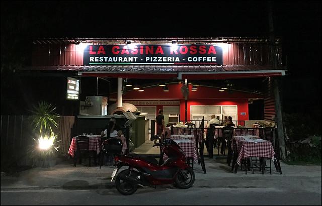 I visited Italy a couplet of times inward the  BangkokMap: La Casina Rossa Italian Restaurant