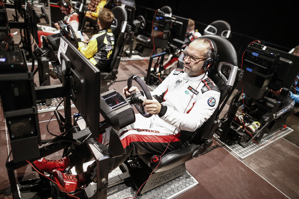 OSCARO Esports race room during the 2018 FIA WTCR World Touring Car cup of Nurburgring, Nordschleife, Germany from May 10 to 12 - Photo Francois Flamand / DPPI