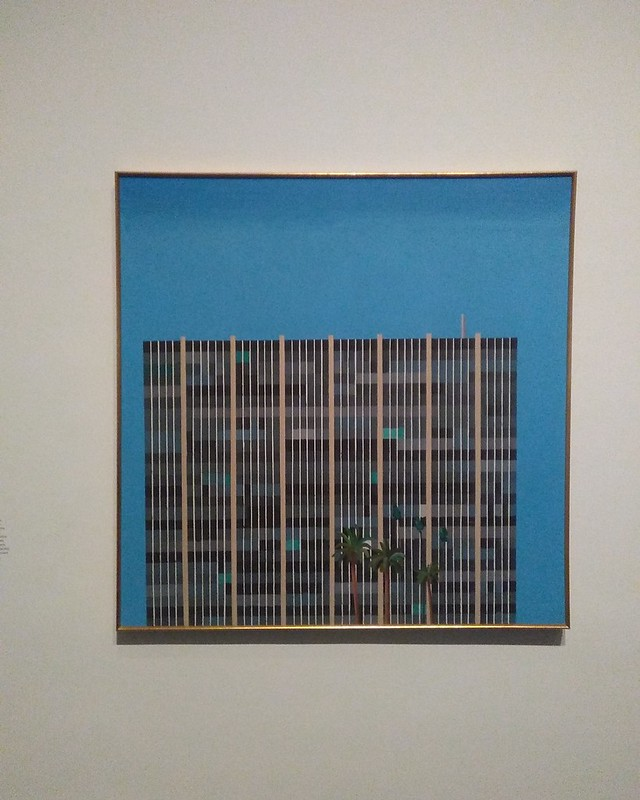 Savings and Loan Building (1967) #newyorkcity #newyork #manhattan #metmuseum #davidhockney #hockney #latergram
