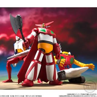 超級迷你盒玩《真蓋特機器人 世界最後之日》蓋特機器人 首波盒玩作品!!スーパーミニプラ 真(チェンジ!!)ゲッターロボ Vol.1