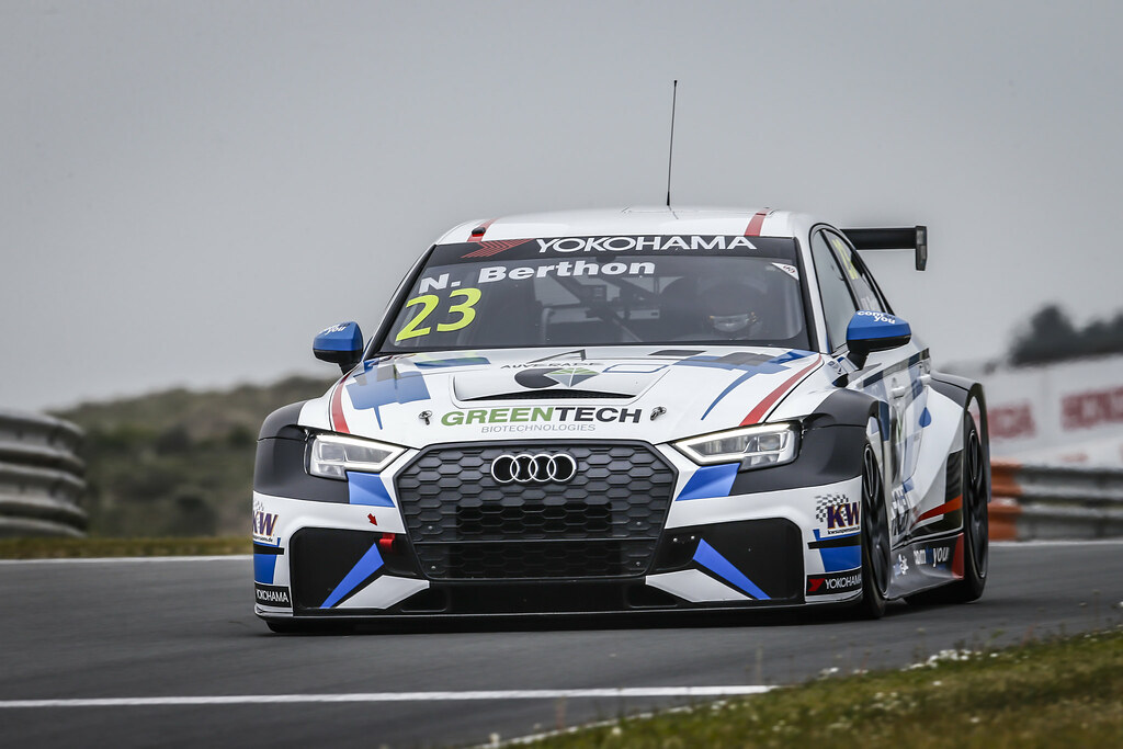 23 BERTHON Nathanael, (fra), Audi RS3 LMS TCR team Comtoyou Racing, action during the 2018 FIA WTCR World Touring Car cup of Zandvoort, Netherlands from May 19 to 21 - Photo Francois Flamand / DPPI