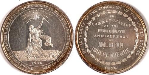 U.S. Centennial Exposition So Called Dollar
