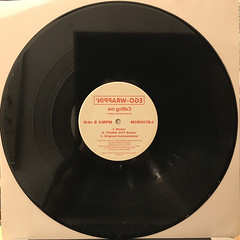 EGO-WRAPPIN':CALLING ME REMIX(RECORD SIDE-B)