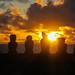 Easter Island by RoiMarteau