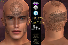 -Nivaro- Thor's Hammer Tattoo (Head Applier) Advert - MAINSTORE RELEASE