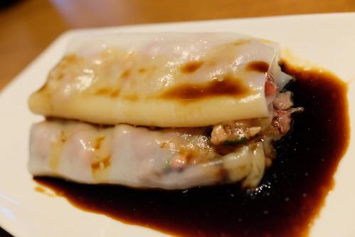 チャーシューのチョンファン steamed Rice Roll with BBQ Pork