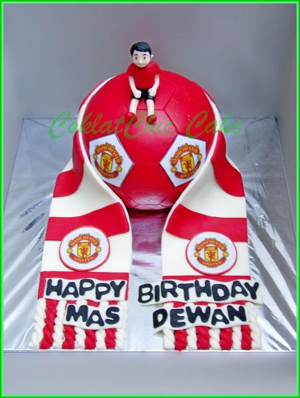 Cake Manchester United Mas DEWAN 15 cm