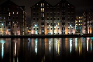 Glos Docks reflections