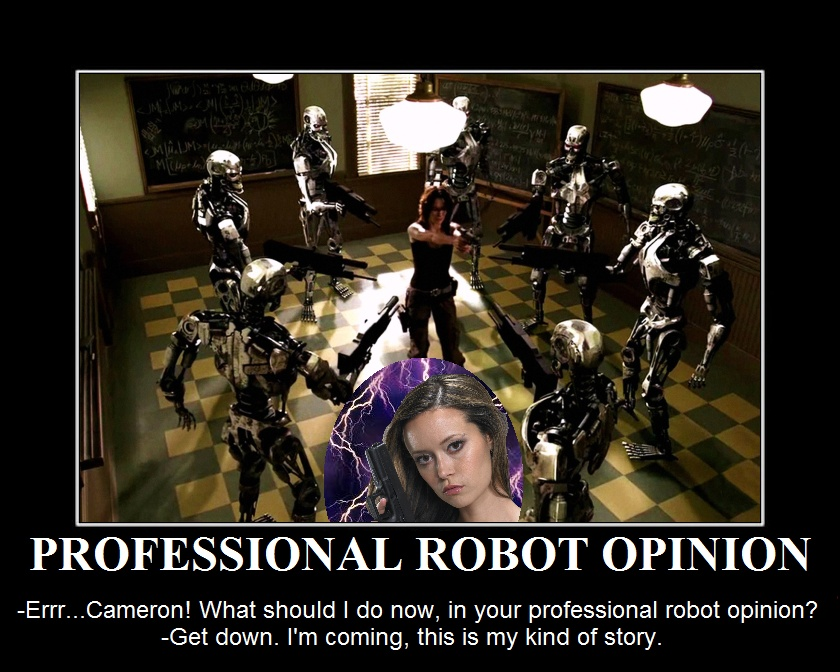 Summer Glau TSCC Cameron professional robot opinion