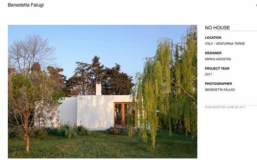 No House -  DIVISARE JOURNAL - Architecture Website/Magazine