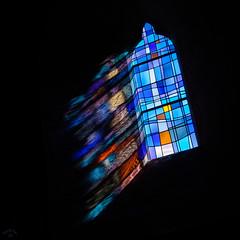 Vitrail de l'église de la Pernelle