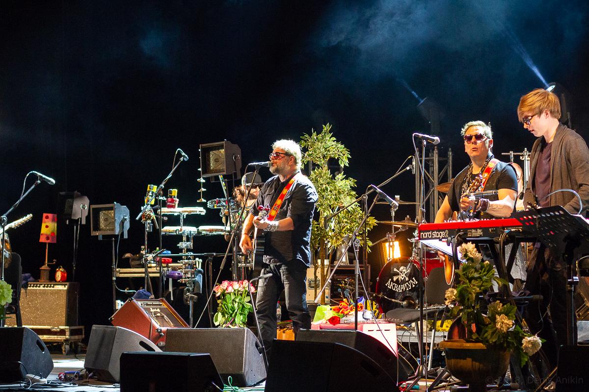 Аквариум Борис Гребенщиков БГ Саратов концерт фото 13