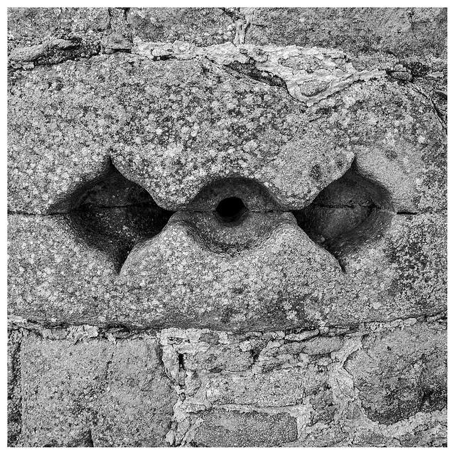 Decorative gunhole , Tolquhon Castle, Fujifilm X-Pro1, XF18mmF2 R