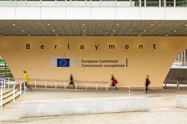 Berlaymont Building, quartiere europeo di Bruxelles