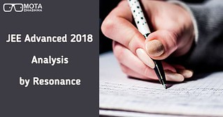 JEE Advanced Analysis 2018 by Resonance