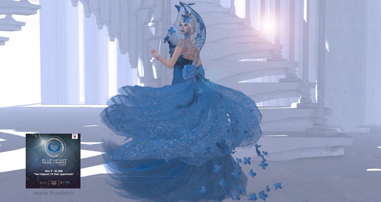 LOTD 964 - Blue Butterfly