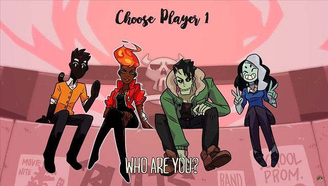 Monster Prom - Character Selection Screen