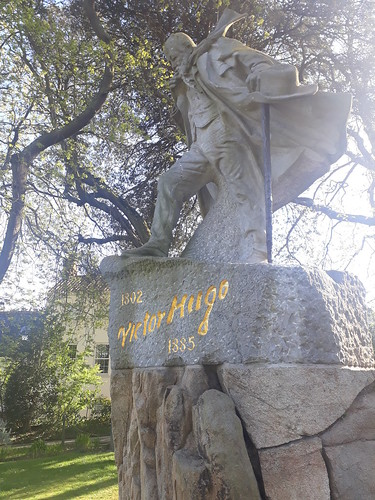 Statue in Candie Gardens