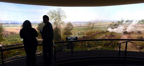 Visitors Experience the Gettysburg Cyclorama. From More Than a Battlefield: Why Gettysburg Should be on Your Bucket List