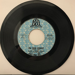 JAMES & BOBBY PURIFY:I'M YOUR PUPPET(RECORD SIDE-A)