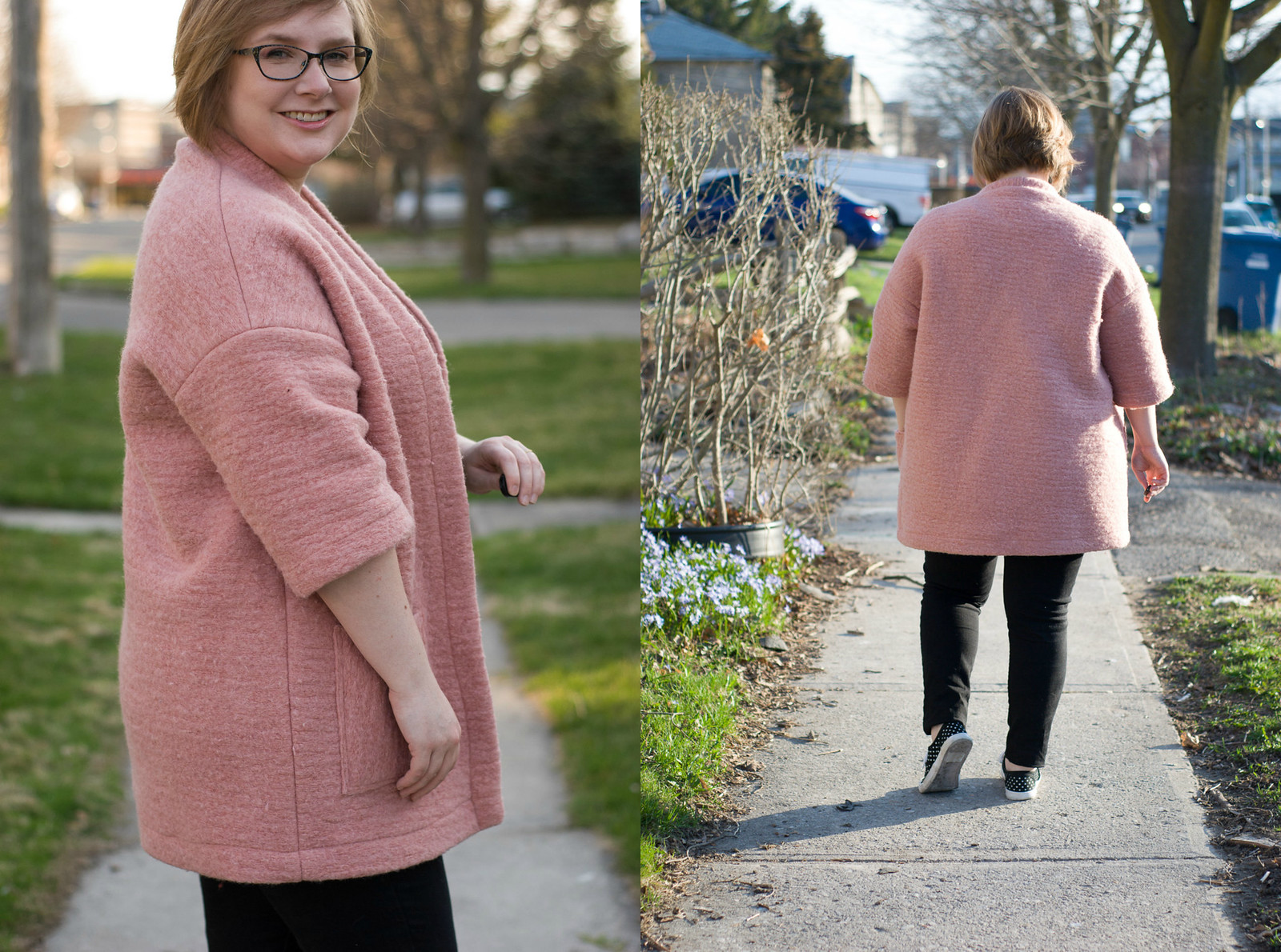 Pink Wool Berlin Jacket