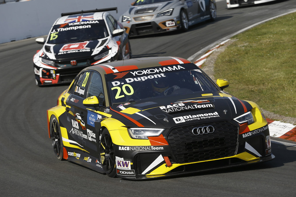 20 DUPONT Denis, (bel), Audi RS3 LMS TCR team Comtoyou Racing, action during the 2018 FIA WTCR World Touring Car cup of Zandvoort, Netherlands from May 19 to 21 - Photo Jean Michel Le Meur / DPPI