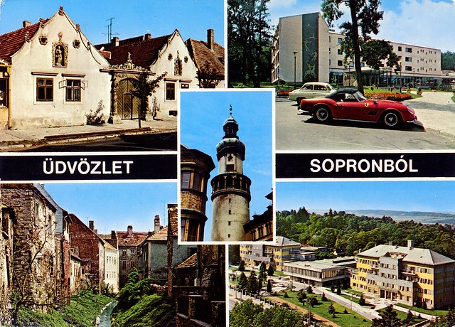 Hungary - Sopron - 1977 - front