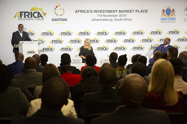 Africa Investment Forum Launch and Press Conference